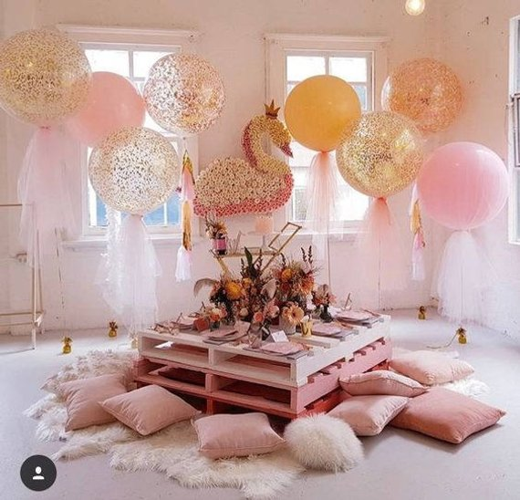 Tulle Confetti Balloon Kit (36″)