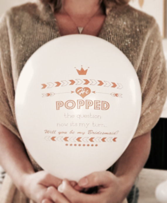 Will You Be My Bridesmaid Proposal Balloons Singapore