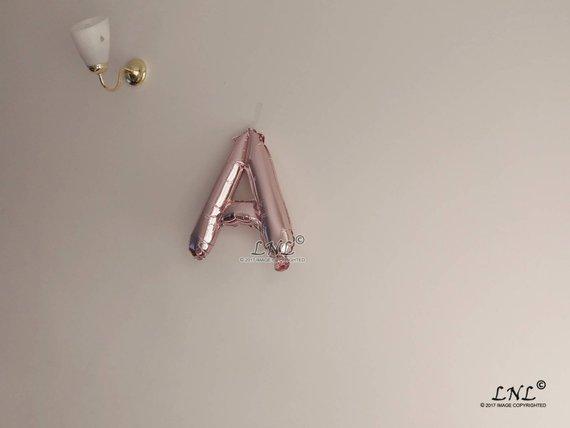Alphabet Proposal Balloons Singapore